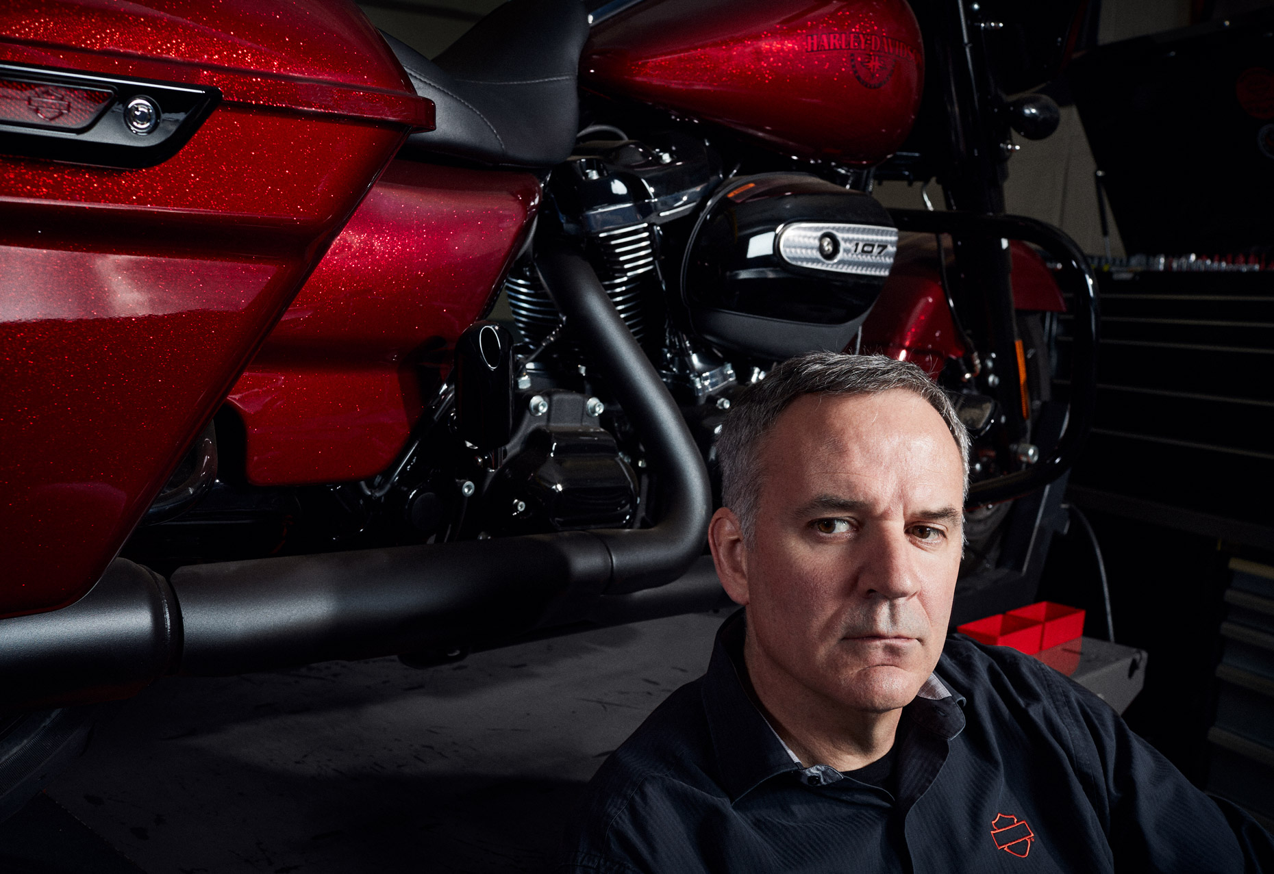 Matt Levatich CEO Harley Davidson Motorcycles | Saverio Truglia