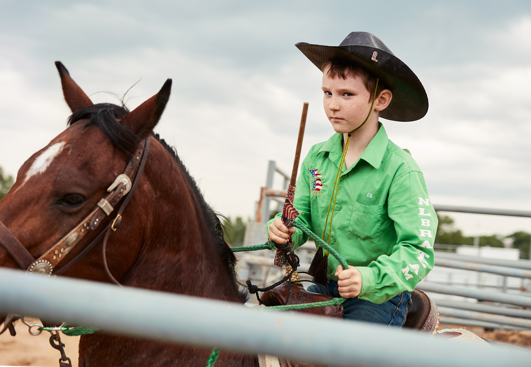 Boy riding horse  Little Britches Rodeo | Saverio Truglia